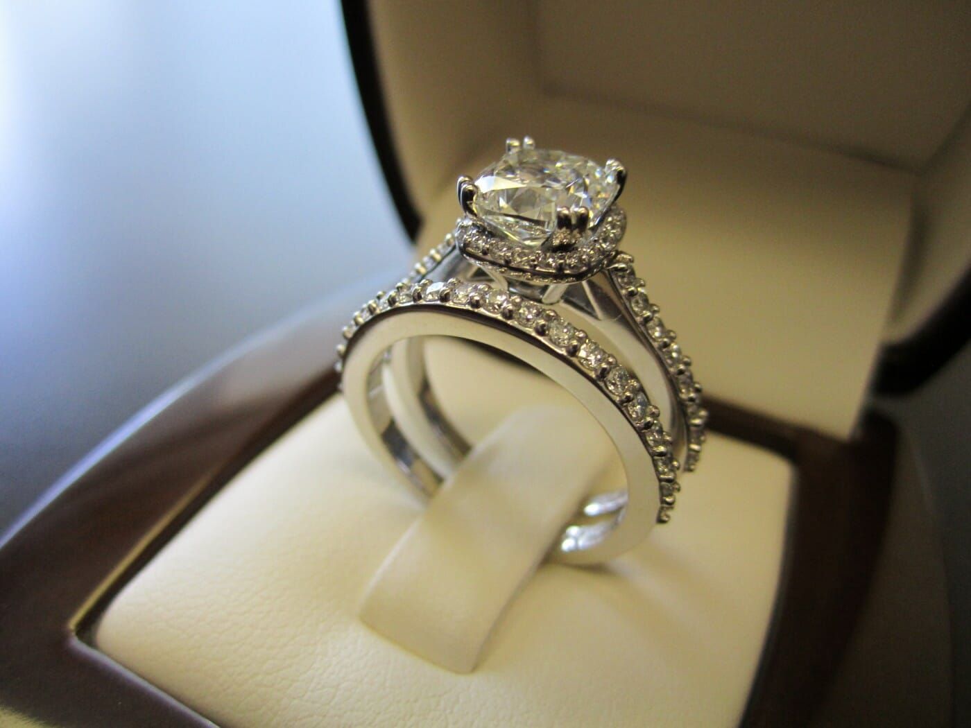 Shark Diamond Ring